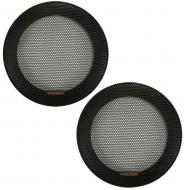 "Kicker 47KSC5G Car Audio 5 1/4"" Pair Speaker Grills for 47KSC504 Speakers New"