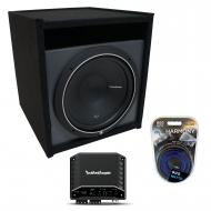 """Universal Car Stereo Paintable Ported 15"""" Rockford Punch P1S215 Sub Box R2-250X1"""