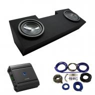"""1982-1992 Pontiac Firebird Coupe Alpine SWT-10S4 Dual 10"""" Sub Box Enclosure Package with S-A..."""