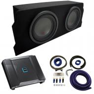 """2004-2008 Mazda RX-8 Coupe Alpine Type R R-W10D2 Dual 10"""" Sub Box Enclosure Package with R-A..."""