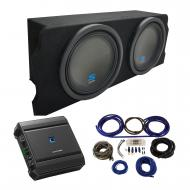 """2004-2008 Mazda RX-8 Coupe Alpine Type S S-W12D2 Dual 12"""" Sub Box Enclosure Package with S-A..."""