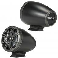 "Kicker 46KMFC65 Marine Audio Boat 6 1/2"" Coaxial Wake Board Tower Speaker System"