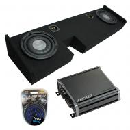 """Compatible with 2009-2014 Ford F-150 Ext Super Cab Truck Harmony F104 Dual 10"""" Sub Box &..."""