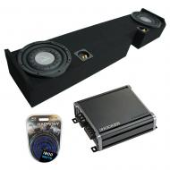 """Compatible with 01-14 Ford F250 F350 Ext Super Cab Truck Harmony F104 Dual 10"""" Sub Box &..."""