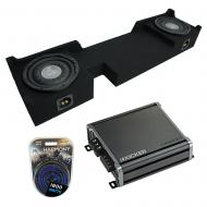 """Compatible with 2004-2008 Ford F-150 Ext Super Cab Truck Harmony F104 Dual 10"""" Sub Box &..."""