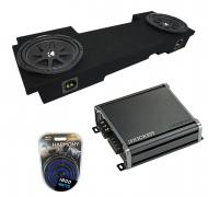 """Kicker Bundle Compatible With 2002-13 Chevy Avalanche C12 Comp Dual 12"""" Loaded Underseat Sub..."""