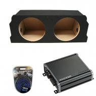 """Compatible with 2004-2008 Mazda RX-8 Coupe Kicker Comp C12 Dual 12"""" Sub Box Enclosure Packag..."""