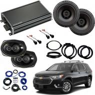Compatible with Chevrolet Traverse 2018 Factory Speaker Replacement Harmony R69 R65 Speakers CXA3...