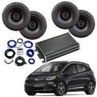 Compatible with Chevrolet Bolt EV 2017-2019 Factory Speaker Replacement Package Harmony R65 CXA360.4