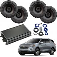 Compatible with Chevrolet Equinox 2018-2019 Factory Speaker Replacement Package Harmony R65 CXA360.4