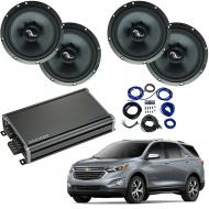 Compatible with Chevrolet Equinox 2018-2019 Premium Speaker Replacement Package Harmony C65 CXA360.4