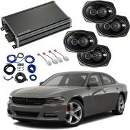 Compatible with Dodge Charger 2015-2019 Factory Speaker Replacement Package Harmony R69 & CXA...