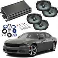 Compatible with Dodge Charger 2015-2019 Premium Speaker Replacement Package Harmony C69 & CXA...