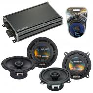 Compatible with Volvo V70/Cross Country/XC70 01-04 Speaker Replacement Harmony Speakers & CXA...