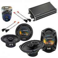 Compatible with Chrysler Sebring Coupe/Sedan 2001 Speaker Replacement Harmony Speakers & CXA3...