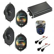 Compatible with Ford Escape 2001-2012 Factory Speakers Replacement Harmony (2) C68 & CXA360.4