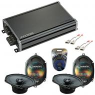 Compatible with Ford Expedition 1997-1998 Factory Speakers Replacement Harmony (2) C68 & CXA3...