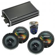 Compatible with Kia Sorento 2003-2009 Factory Speakers Replacement Harmony (2) C65 & CXA360.4
