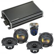 Compatible with BMW 5 Series 1997-2008 Factory Speaker Replacement Harmony (2) R5 & CXA360.4 Amp