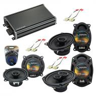 Compatible with Buick Le Sabre 1988-1994 Factory Speaker Replacement Harmony Speakers & CXA36...
