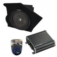 """Compatible with 1993-2002 Pontiac Firebird Coupe Driver Side 10"""" Kicker CompR CWR10 Sub Box ..."""