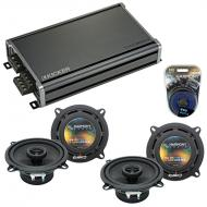 Compatible with Cadillac CTS 2003-2016 Factory Speaker Replacement Harmony (2) R5 & CXA360.4 Amp