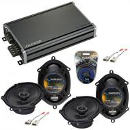 Compatible with Ford Expedition 1997-1998 Factory Speaker Replacement Harmony (2) R68 & CXA36...