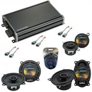 Compatible with Ford Taurus 1986-1989 Factory Speaker Replacement Harmony Replacement & CXA36...