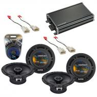 Compatible with Toyota 4 Runner 2001-2002 Factory Speaker Replacement Harmony (2) R65 & CXA36...