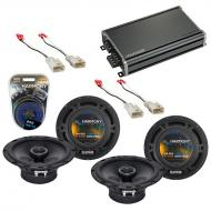 Compatible with Toyota 4 Runner 2003-2009 Factory Speaker Replacement Harmony (2) R65 & CXA36...