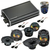 Compatible with Dodge Dynasty 1988-1993 Factory Speaker Replacement Harmony Speakers & CXA360...
