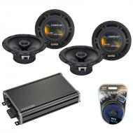 Compatible with Mitsubishi Outlander Sport 11-16 Speaker Replacement Harmony (2) R65 & CXA360...