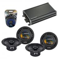 Compatible with Volkswagen Eos 2007-2011 Factory Speaker Replacement Harmony (2) R65 & CXA360...