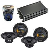 Compatible with Volkswagen GLI 2008-2011 Factory Speaker Replacement Harmony (2) R65 & CXA360...