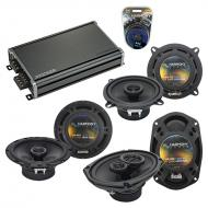 Compatible with Cadillac DeVille 2000-2005 OEM Component Speaker Replacement Harmony & CXA360...