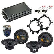 Compatible with Chevy Avalanche 2002-2006 OEM Speaker Replacement Harmony R5 R65 & CXA360.4 Amp