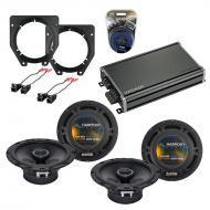 Compatible with Chevy Express Van 1996-2007 OEM Speaker Replacement Harmony (2) DC65 & CXA360...