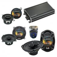 Compatible with Chrysler Concorde 1993-1997 OEM Speaker Replacement Harmony Speakers & CXA360...
