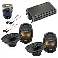 Compatible with Chrysler Sebring Sedan 02-05 OEM Speaker Replacement Harmony (2) R69 & CXA360...