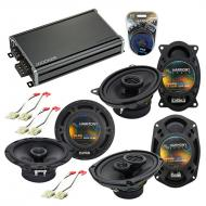 Compatible with Buick Electra 1984-1990 Factory Speaker Replacement Harmony Speakers & CXA360...