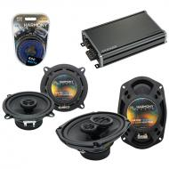 Compatible with Mitsubishi Diamante Wagon 93-95 OEM Speaker Replacement Harmony Speakers & CX...