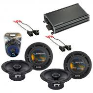 Compatible with Oldsmobile Silhouette 97-04 OEM Speaker Replacement Harmony Speakers & CXA360...