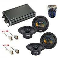 Compatible with Pontiac G3 (hatchback) 2007-2007 OEM Speaker Replacement Harmony R65 & CXA360...