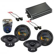Compatible with Pontiac TransSport 1997-1999 OEM Speaker Replacement Harmony (2) R65 & CXA360...
