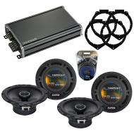 Compatible with Saturn Outlook 2007-2009 OEM Speaker Replacement Harmony (2) R65 & CXA360.4 Amp