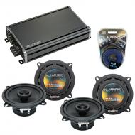 Compatible with Toyota Land Cruiser 1975-1981 OEM Speaker Replacement Harmony (2) R5 & CXA360...