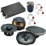 Compatible with Cadillac Fleetwood 85-92 OEM Speakers Replacement Harmony C5 C69 & CXA360.4 Amp