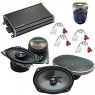 Compatible with Chevy S-10 Blazer 82-89 OEM Speakers Replacement Harmony C46 C69 & CXA360.4 Amp