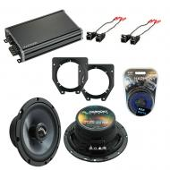 Compatible with Chevy Van Express 2003-2007 OEM Speakers Replacement Harmony (2) C65 & CXA360.4