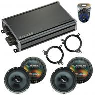 Compatible with Dodge Durango 2002-2003 Factory Speakers Replacement Harmony (2) C65 & CXA360.4